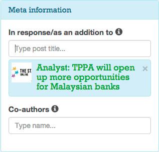 Responder al post con un artículo, anuncio, etc.