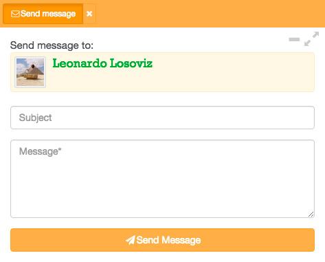 Enviar un mensaje a un usuario